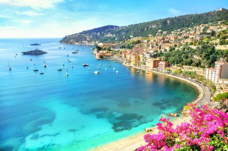 French Riviera West Mediterranean