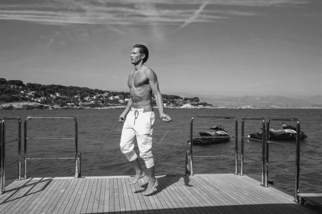Wellness on board a yacht