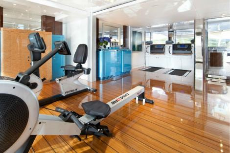 superyacht gym