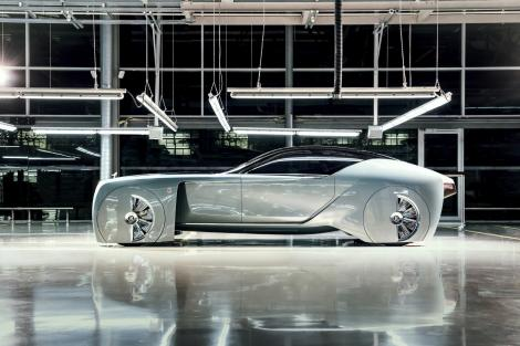 Silver supermobility car