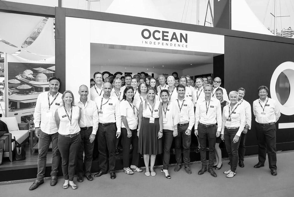 Photo of the Ocean Independence team