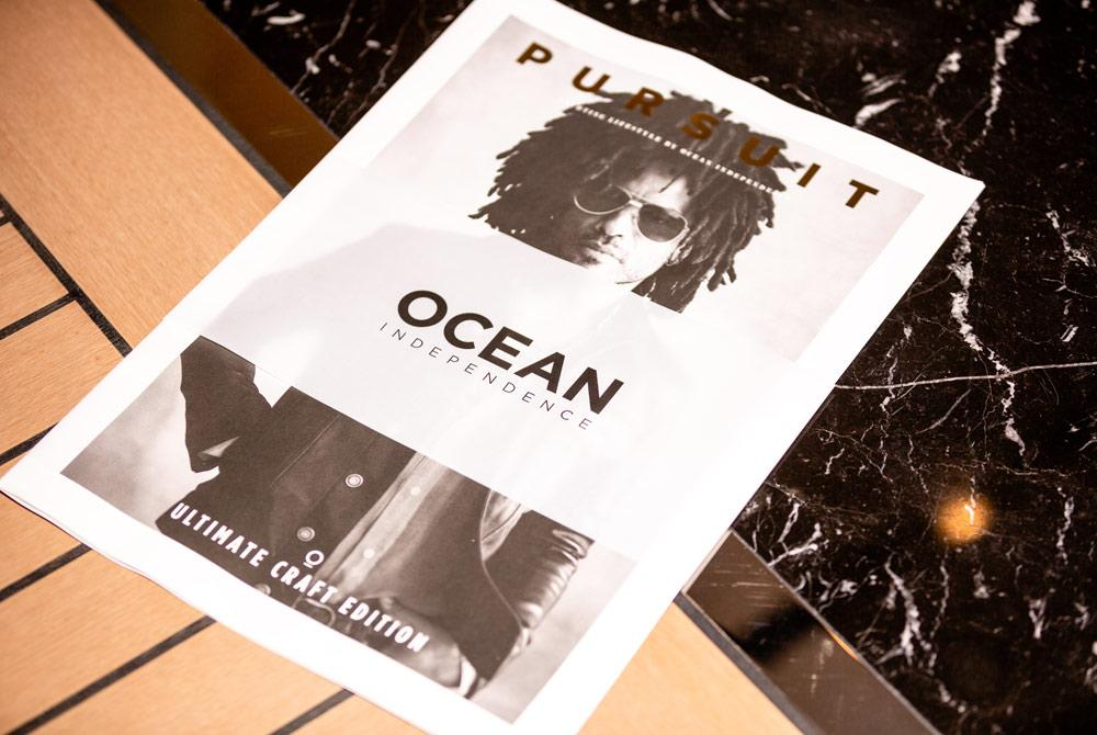 Pursuit magazine with Lenny Kravitz on cover