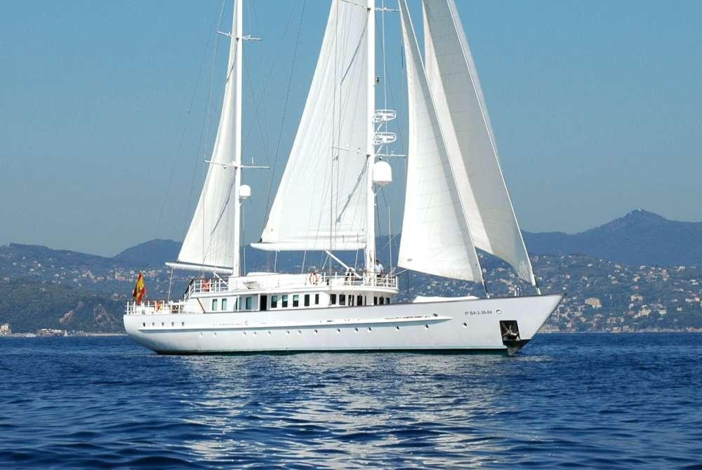 Sailing Yacht MATA MUA for charter in the Balearics